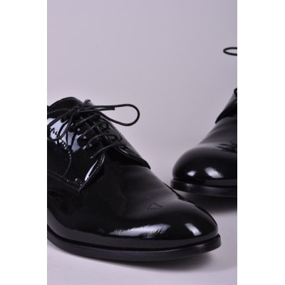 DOUCAL'S - GLOSSY OXFORD SHOE