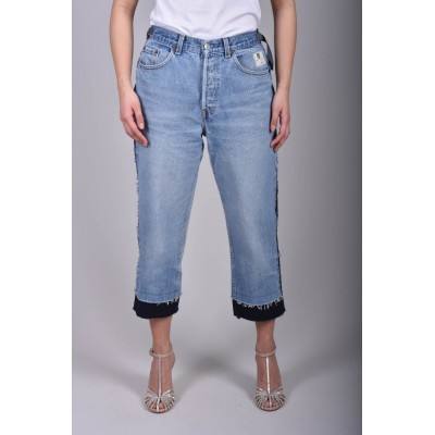 DONT' WORRY - REWORKED JEANS