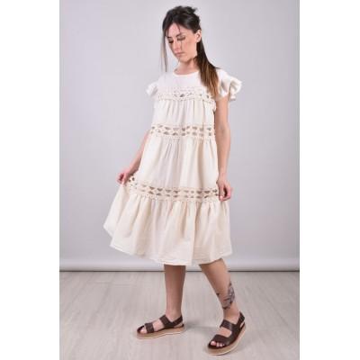 DEVOTION TWINS - CROCHET DRESS