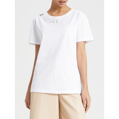SEMICOUTURE - T-SHIRT OPHELIE
