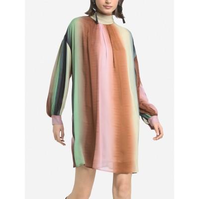 OTTOD'AME - GRADIENT DRESS